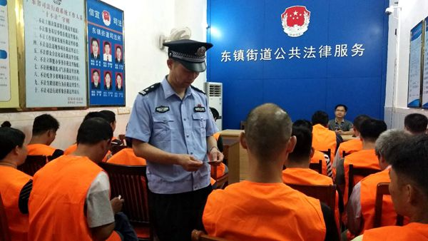 """省局创建办到清远监狱开展创建规范化监区""""回头看""""检查"""